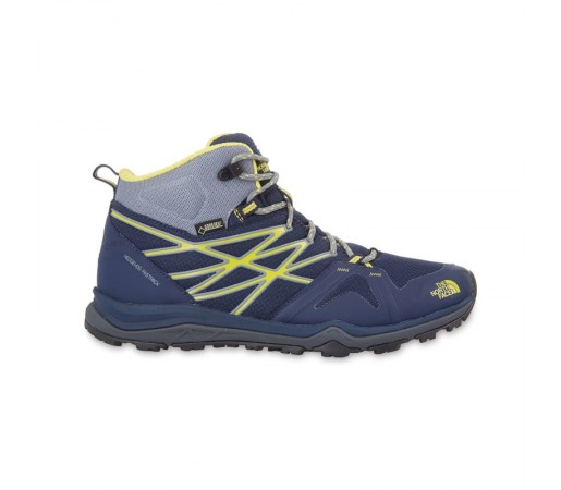 Incaltaminte The North Face M Hedgehog Fastpack Lite Mid GTX Albastra/ Galbena
