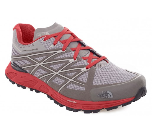 Incaltaminte Alergare The North Face M Ultra Endurance Gri/Rosie