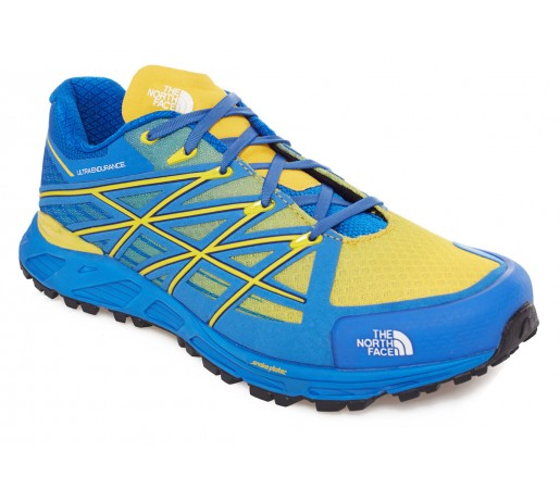 Incaltaminte Alergare The North Face M Ultra Endurance Albastra/Galbena