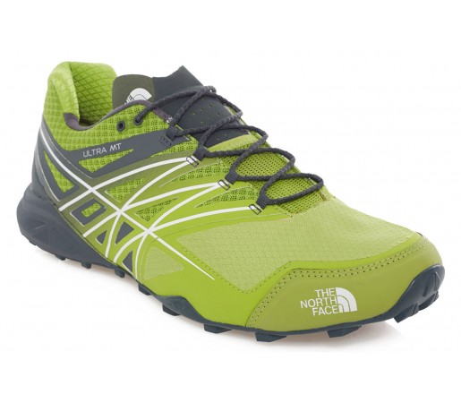 Incaltaminte alergare The North Face M Ultra MT Verde