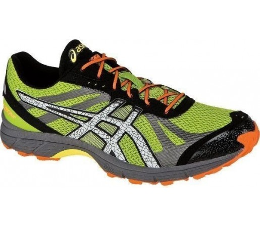 Incaltaminte Asics Gel Fuji Racer Grey- Green- Orange