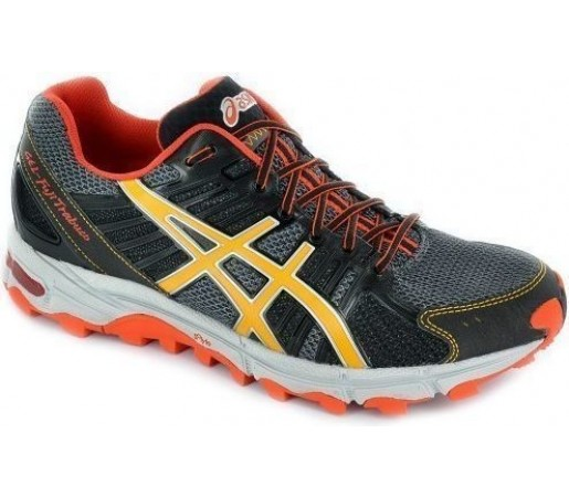 Incaltaminte Asics Gel Fujitrabuco Black- Yellow- Orange