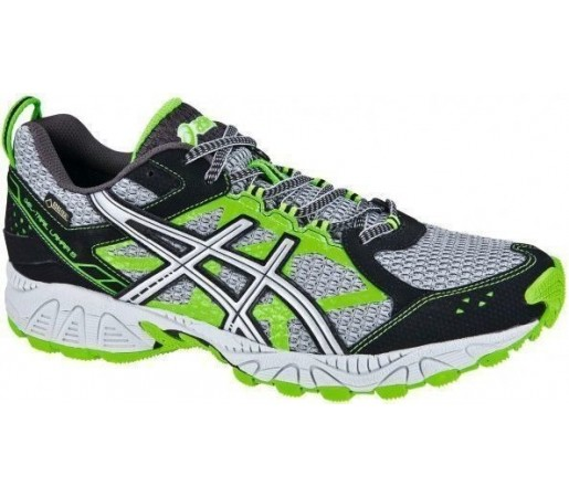 Incaltaminte Asics Gel Trail Lahar 5 GTX Silver- Black- Green