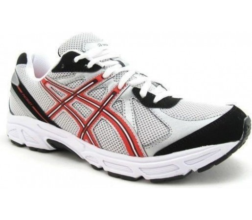 Incaltaminte Asics Patriot 5 White- Black- Red