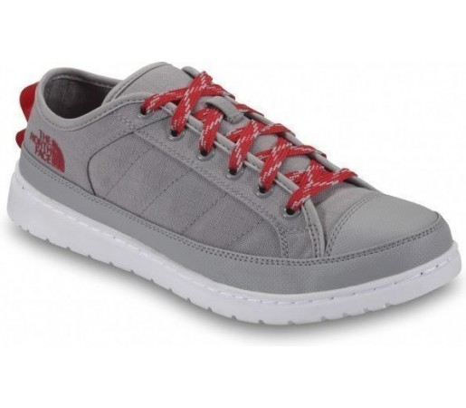Incaltaminte The North Face Base Camp Sneaker Grey Red 2013
