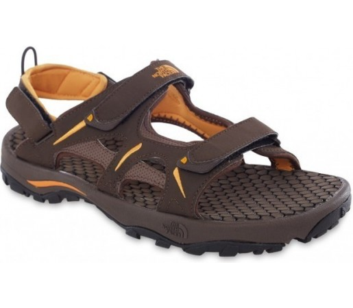 Sandale The North Face M Hedgehog Sandal  Maro/ Portocaliu