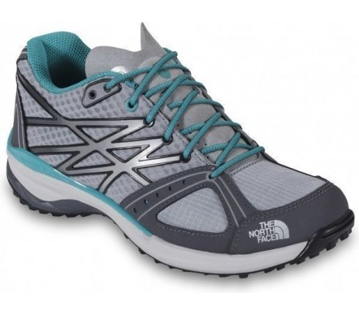 Incaltaminte The North Face W Ultra Hike Grey- Blue