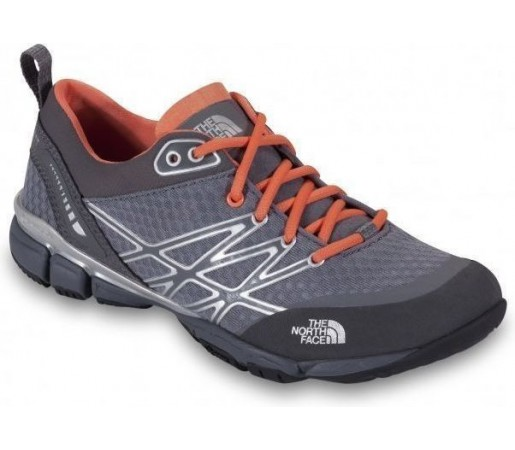 Incaltaminte Hiking The North Face W Ultra Kilowatt Grey/Orange