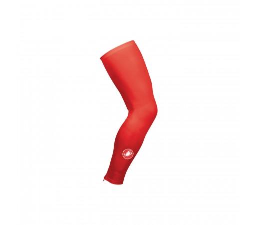 Incalzitoare picioare Castelli Lycra Rosii