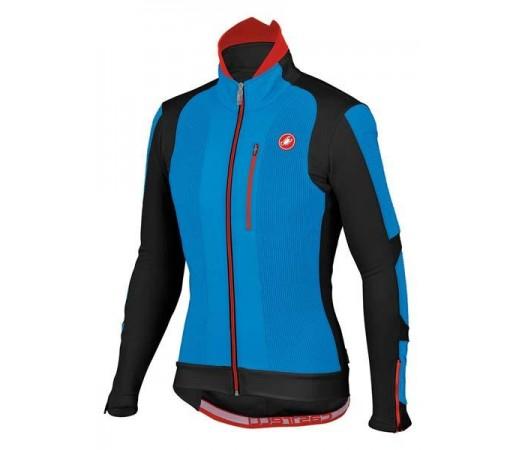 Jacheta iarna ciclism Castelli Elemento 7X(Air) Negru/Albastru