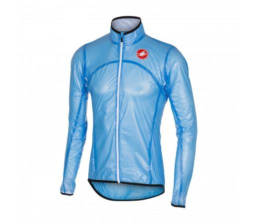 Jacheta ploaie ciclism Castelli Sottile Due Albastra