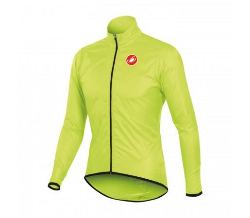 Jacheta de ploaie pt ciclism Castelli Squadra Long Verde