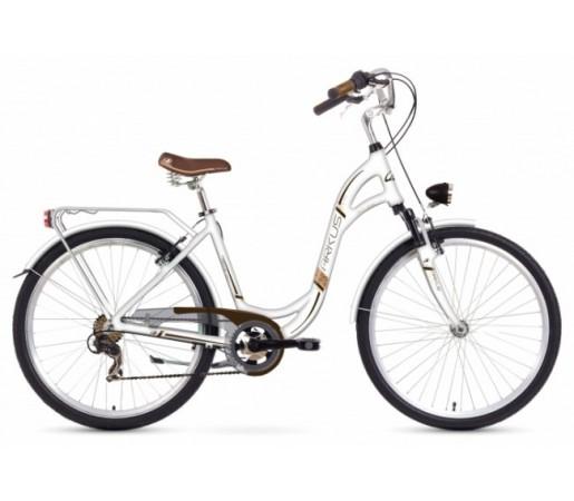 Bicicleta oras Arkus Jaspis 28 Alba 2016