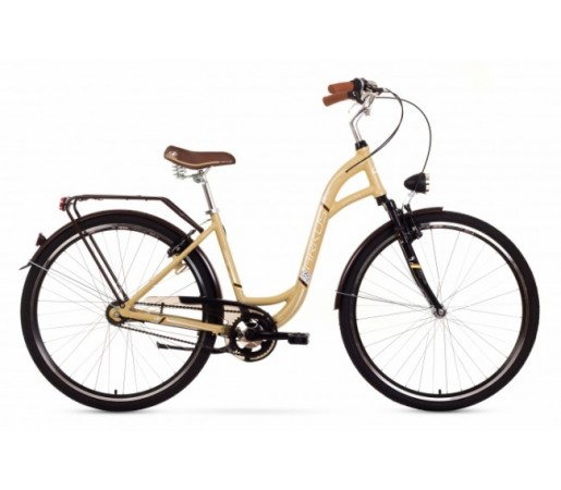 Bicicleta oras Arkus Jaspis 28 Lux Bej 2016