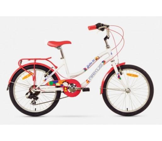 Bicicleta copii Arkus Julka 20 Alb/Portocaliu 2016