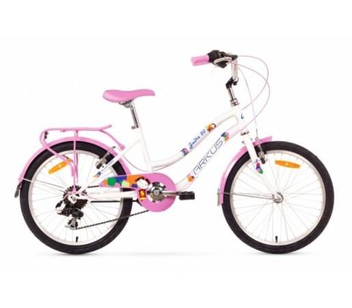 Bicicleta copii Arkus Julka 20 Alb/Roz 2016
