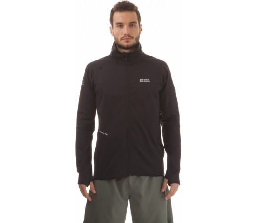 Geaca Nordblanc Kean Men's Powerfleece Running Negru