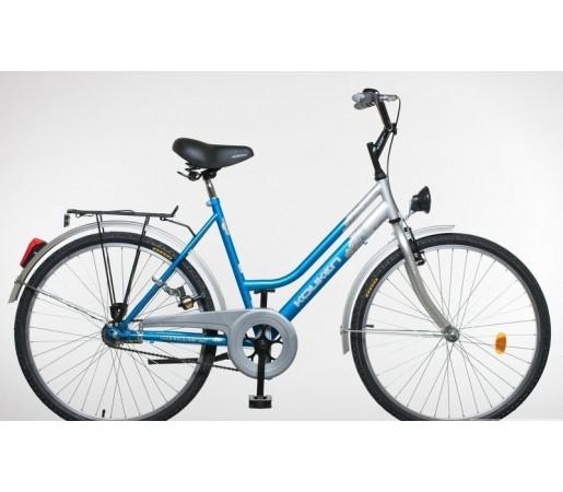 Bicicleta de oras Koliken Turist Lady's 26 Albastru