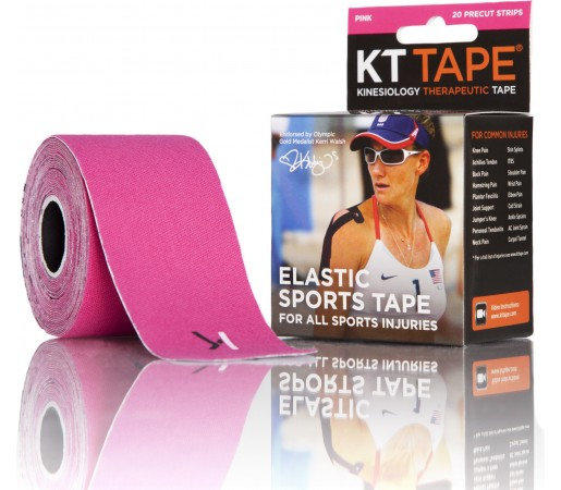Benzi Kinesiologice Kt Tape Cotton Precut Pink