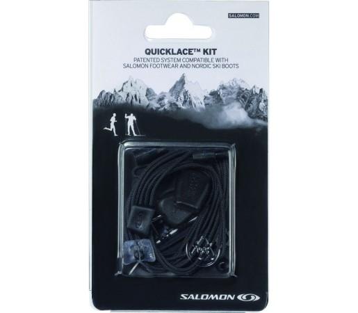 Sireturi Salomon Quicklace Kit Black