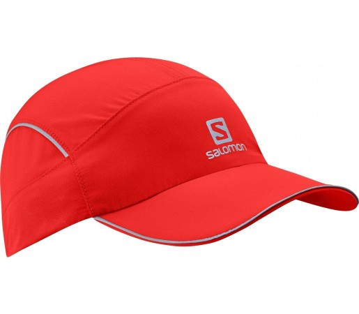 Sapca Salomon Night Cap Red/White