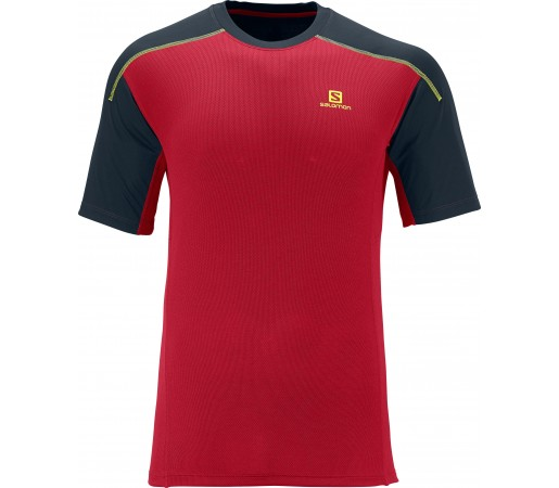 Tricou Salomon Apogee Ss M Red