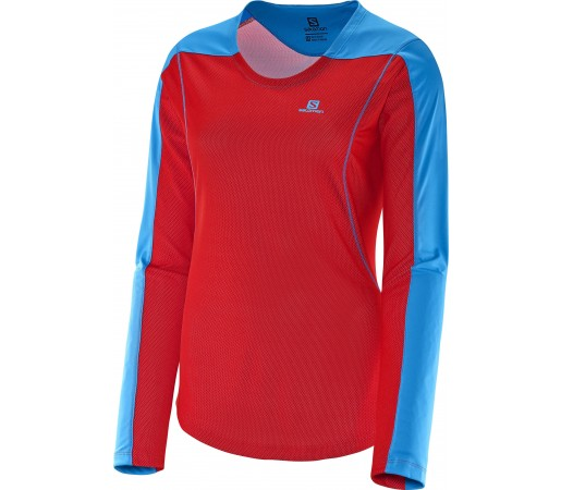Bluza Salomon Apogee LS W Red