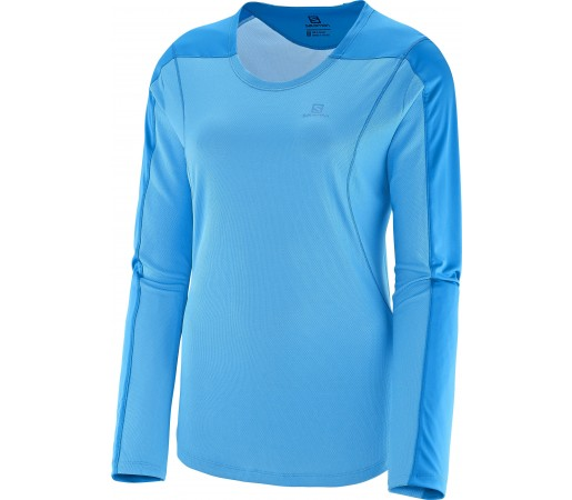 Bluza Salomon Apogee LS W Light Blue