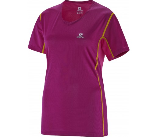 Tricou Salomon Start Tee W Purple
