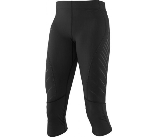 Pantaloni Salomon Endurance 3/4 Tight W Negri