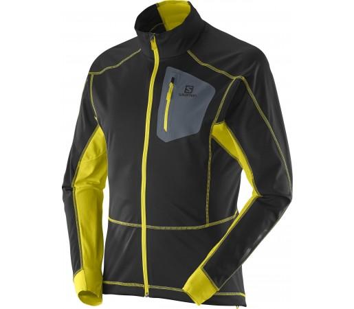 Geaca Softshell Salomon Equipe M Black- Yellow