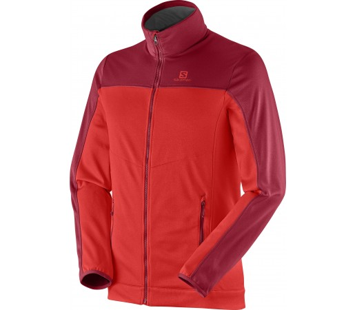 Midlayer Salomon Cruz Fz 2 M Red