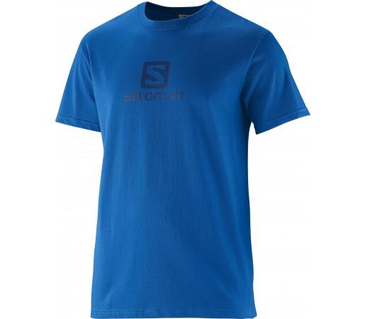 Tricou Salomon Polylogo M Blue