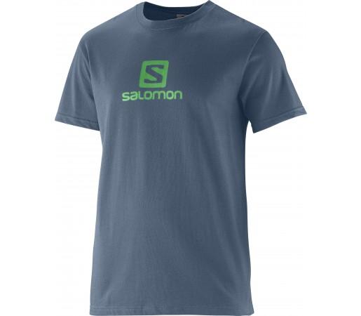 Tricou Salomon Polylogo M Grey