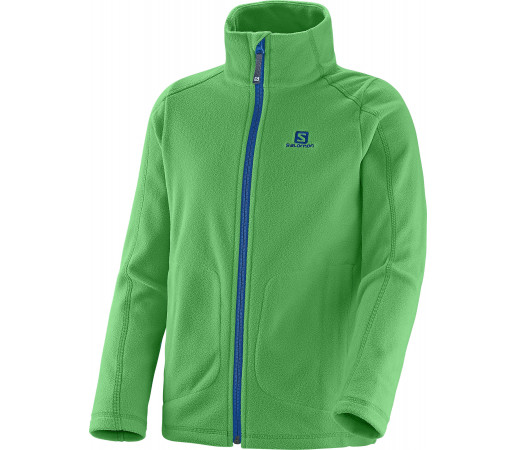 Midlayer Salomon Panorama Jr Fz K Green