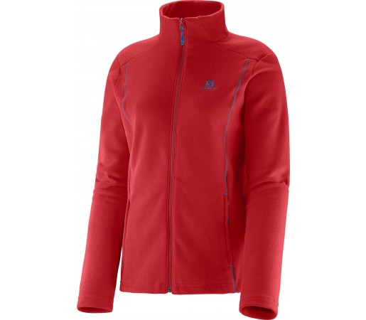 Midlayer Salomon Panorama FZ W Red