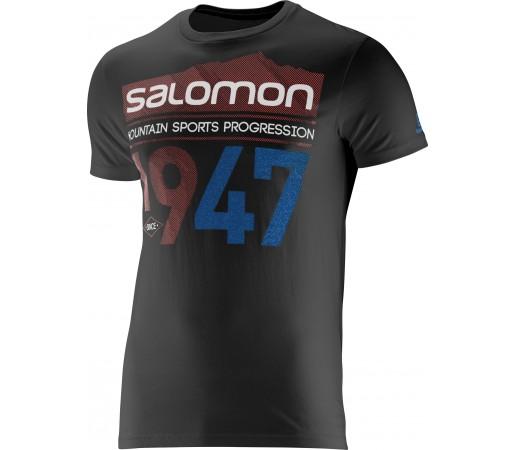 Tricou Salomon 1947 Logo SS M Black