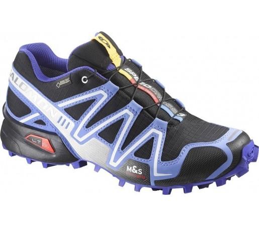 Incaltaminte de alergare Salomon Speedcross 3 GTX W Albastru/ Negru