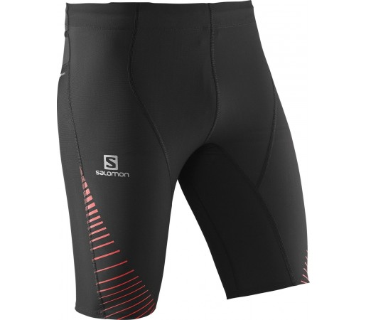 Pantaloni Salomon Endurance Short Tight M Negri