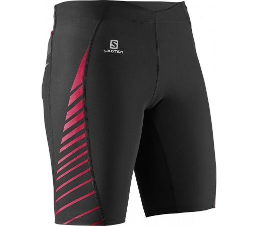 Pantaloni Salomon Endurance Short Tight W Negri