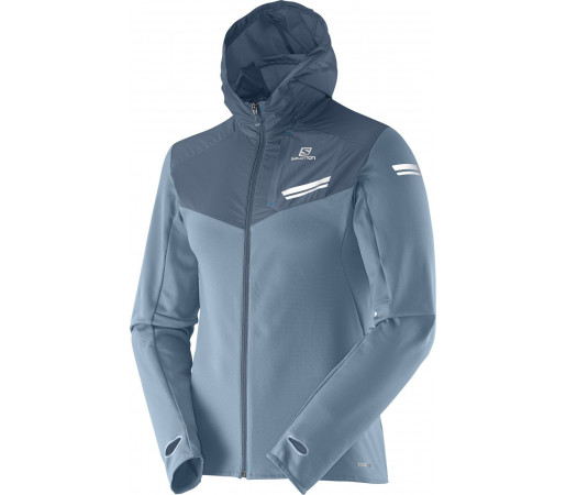 Midlayer Salomon Elevate Mid M Albastru