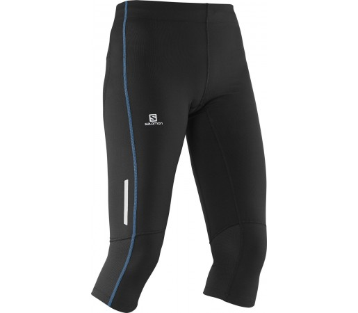 Pantaloni Salomon Agile 3/4 Tight W Negri