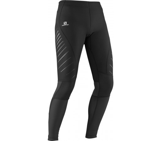 Pantaloni Salomon Endurance Tight M Negri