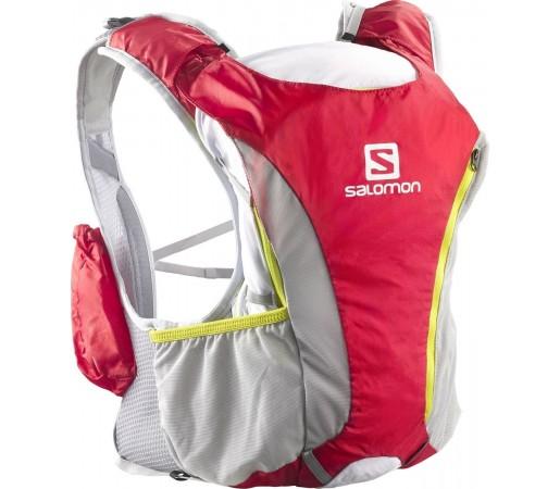 Rucsac alergare Salomon Skin Pro 14+3 Set Rosu