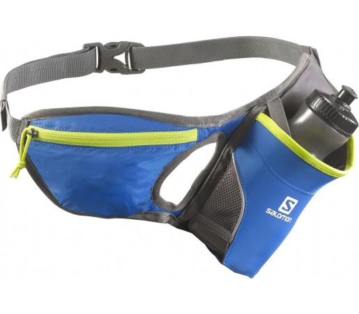 Centura pentru alergare Salomon Hydro 45 Belt Albastra/Galben