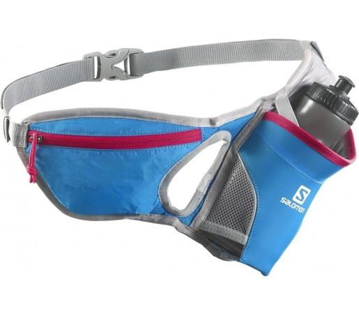 Centura pentru alergare Salomon Hydro 45 Belt Albastra/Rosu