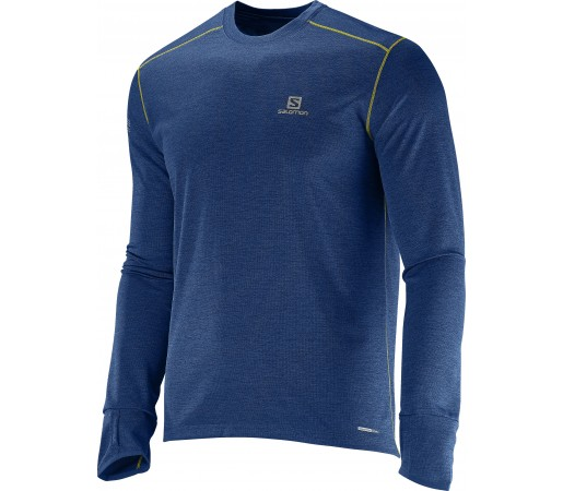Bluza tehnica Salomon Park LS M Albastra