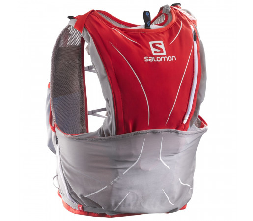 Rucsac Salomon S-Lab Advanced Skin 12 Set Rosu