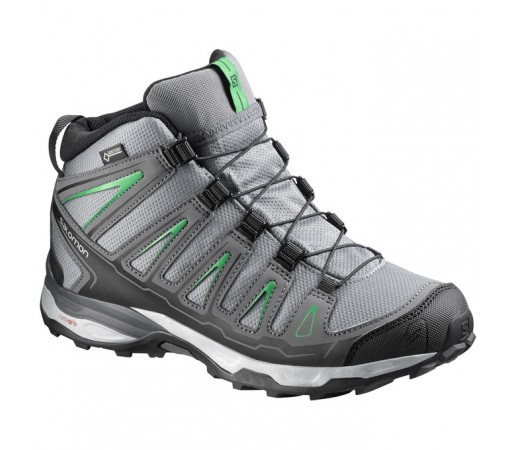 Incaltaminte hiking Salomon X-Ultra MID GTX J Gri