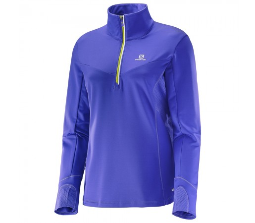 Midlayer Salomon W Trail Runner Violet